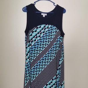 Navy Blue Kim Rogers Dress